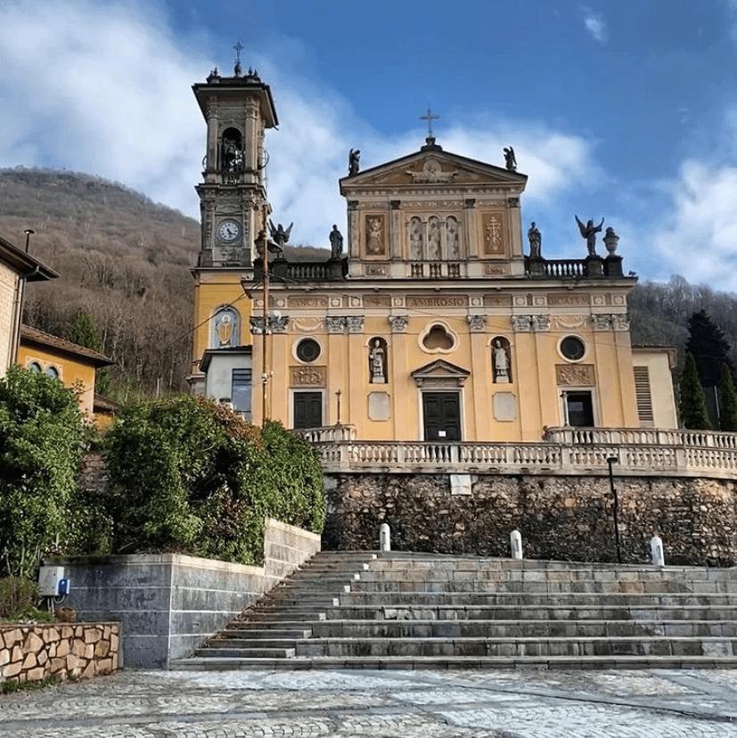 Fotografia Chiesa Sant'Ambrogio Porto Ceresio