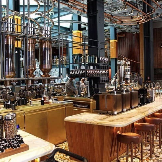 Fotografia Starbucks Reserve Interno