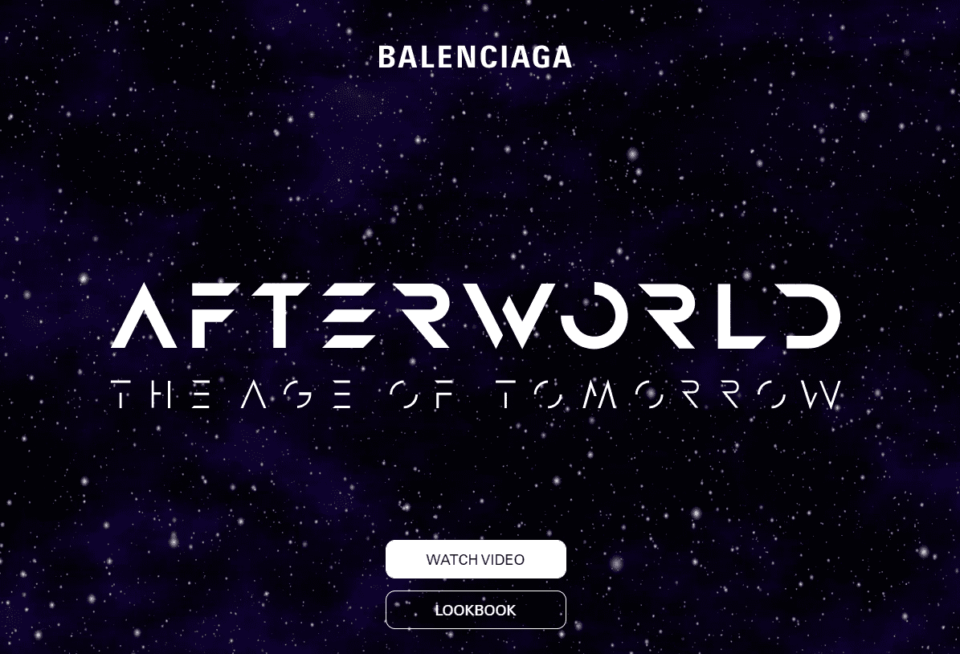 Videogame Balenciaga Image
